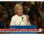 Clinton on challenges after making history