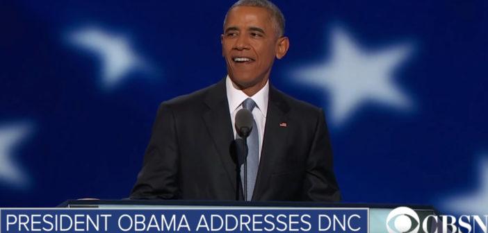 Full Speech: President Obama addresses the DNC
