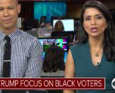 Candidates focus on black voters