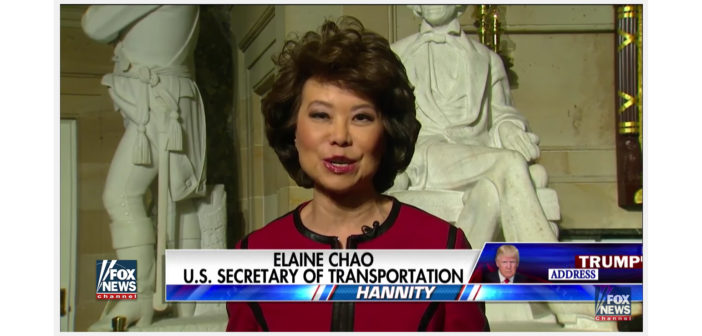 Secretary Chao on Trump's novel ideas to fund infrastructure