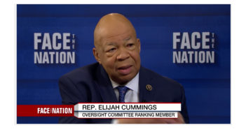 ElijahCummings on Trump