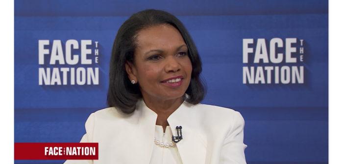 Condoleezza Rice Discusses 'Democracy'