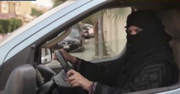 Saudi women celebrate being allowed to drive
