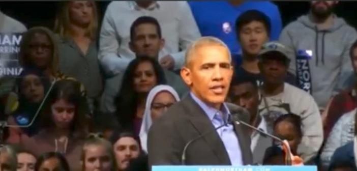Former President Obama Rally Speech 10/19/17